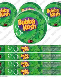 Bubba Kush Type 2 Pressitin Labels