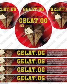 Gelat OG Pressitin Labels