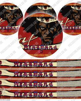 Headband Pressitin Labels