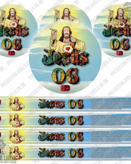 Jesus OG Pressitin Labels