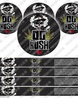OG Kush Type 2 Pressitin Labels