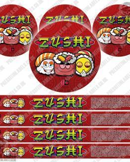Zushi Pressitin Labels