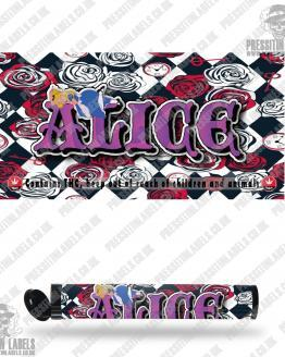 Alice Pre Roll Labels