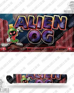 Alien OG Type 2 Pre Roll Labels
