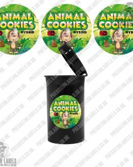Animal Cookies Cali Pop Top Slaps