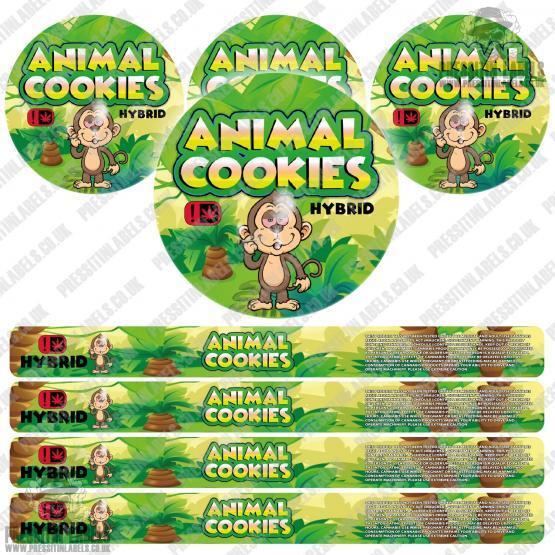 Animal Cookies Pressitin Labels