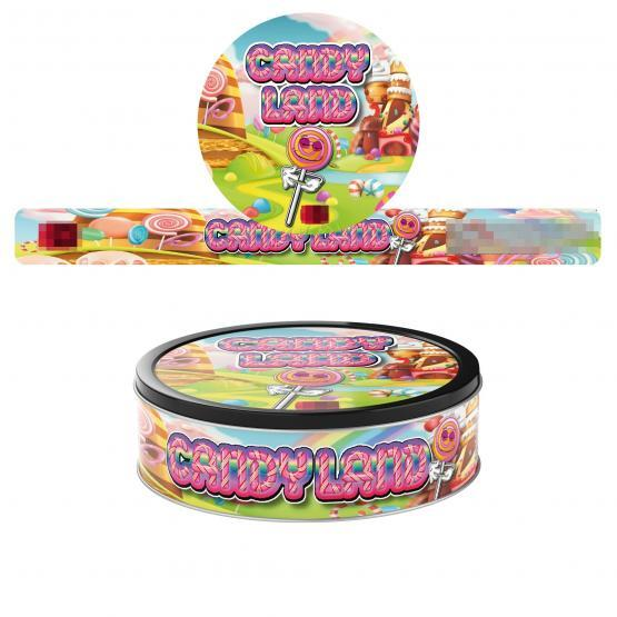Candy Land Pressitin Labels