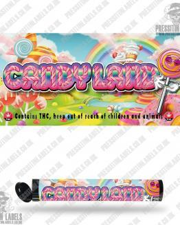 Candy Land Pre Roll Labels