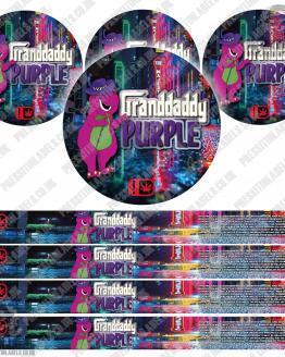 Granddaddy Purple Type 2 Pressitin Labels