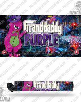 Granddaddy Purple Type 2 Pre Roll Labels