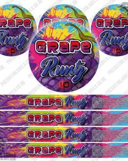 Grape Runtz Pressitin Labels