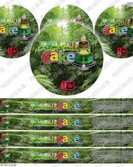 Jungle Cake Type 2 Pressitin Labels