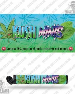 Kush Mints Pre Roll Labels