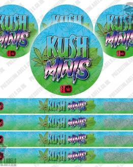 Kush Mints Pressitin Labels