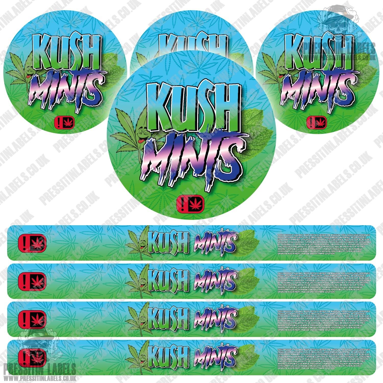 Kush Mints Pressitin Labels