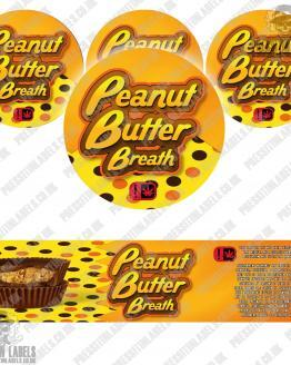 Peanut Butter Breath Jar Labels