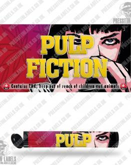 Pulp Fiction Pre Roll Labels