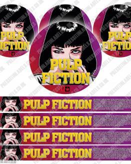 Pulp Fiction Pressitin Labels