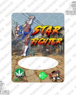 Star Fighter Mylar Bags