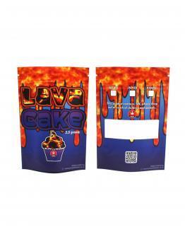 Lava Cake Mylar Bags