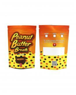Peanut Butter Breath Mylar Bags