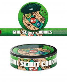 Girl Scout Cookies T2 Pressitin Labels